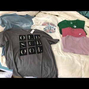 NWT XL T-shirts.  Gap, banana, lucky and old navy